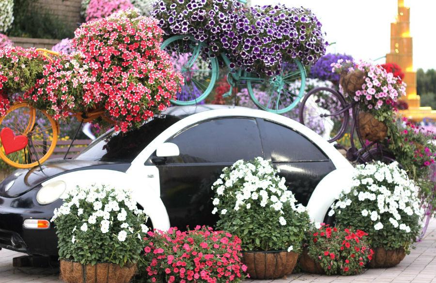 Цветната градина в Дубай
